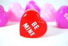 Mensaje del corazón 2 fotos de archivo