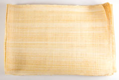 Mensaje egipcio del papiro Fotos de archivo libres de regalías