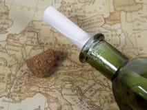 Mensaje en una botella 3 Imágenes de archivo libres de regalías
