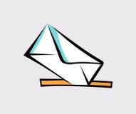Mensaje, estallido Art Vector Icon Fotografía de archivo libre de regalías