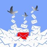 Mensaje importante de llegada Foto de archivo libre de regalías