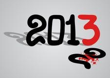 mensaje original 2013 Imagen de archivo libre de regalías