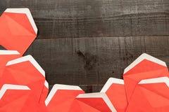 Mensaje rojo Imagen de archivo libre de regalías