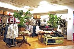 MensBekleidungsgeschäft Stockfoto