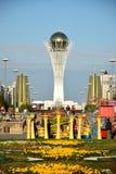 Menschen-Energie Astanas Art Fest 2016 für Ausstellung 2017 in Astana Stockfotografie