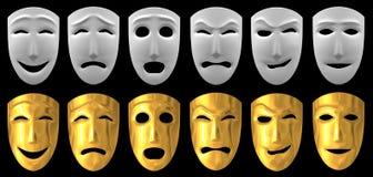 Menschliche Gefühle Stockfotos