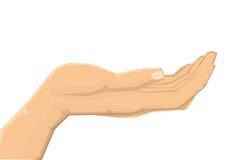 Menschliche Hand Stockbild