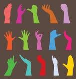 Menschliche Handgeste Stockbild