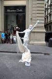 Menschliche Statue stockbilder