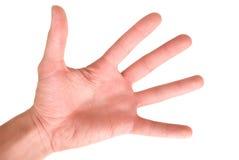 Menschlicher Arm Stockfoto