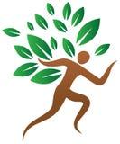 Menschlicher Baum lizenzfreie abbildung