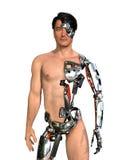 Menschlicher Cyborg Stockfotografie