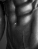 Menschlicher Körper in Schwarzweiss Stockfotos