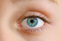 Menschliches Auge Lizenzfreie Stockfotografie