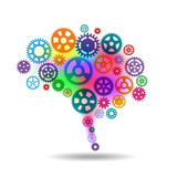 Menschliches Gehirn Lizenzfreies Stockfoto