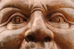 Menschliches Gesicht Stockfoto