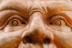 Menschliches Gesicht Stockfotografie