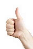 Menschliches Handzeichen Stockfotos