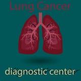 Menschliches Lungenemblem Lizenzfreie Stockfotografie