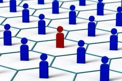Menschliches Netz Vektor Abbildung