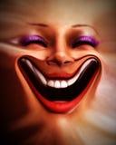 Menschliches verzerrtes Gesicht 6 Lizenzfreie Stockfotografie