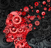 Menselijk Brain Injury vector illustratie