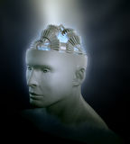 Menselijk intelligentieconcept Stock Fotografie