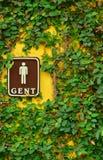 Menselijk mannelijk tekenpictogram Het symbool van de mensenpersoon Royalty-vrije Stock Foto's