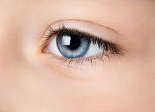 Menselijk oog Royalty-vrije Stock Afbeeldingen