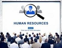 Menselijk Van middelen voorziend het Beroepsconcept van het Banenberoep stock afbeeldingen