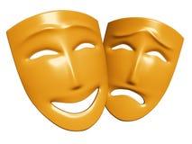 Menselijke emoties Stock Foto