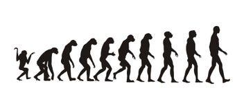 Menselijke evolutie Royalty-vrije Stock Fotografie