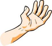 Menselijke Hand Royalty-vrije Stock Afbeeldingen