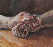 Menselijke Handen stock illustratie