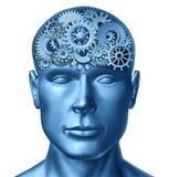 Menselijke intelligentie Stock Afbeeldingen