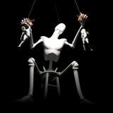 Menselijke marionetten Stock Foto