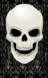Menselijke schedelzombie Royalty-vrije Stock Afbeeldingen