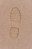 Menselijke voetstappen stock fotografie