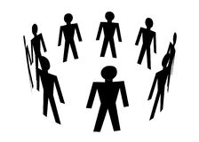 Mensen Royalty-vrije Stock Afbeelding