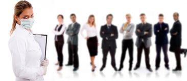 Mensen - aantal arbeidskrachten Stock Foto's