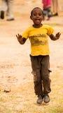 Mensen in AKSUM, ETHIOPIË Stock Foto's