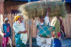 Mensen in ANTANANARIVO, MADAGASCAR Stock Foto's