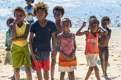Mensen in ANTANANARIVO, MADAGASCAR Stock Afbeeldingen
