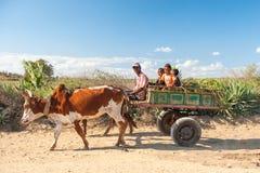 Mensen in ANTANANARIVO, MADAGASCAR Stock Fotografie