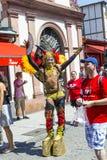 Mensen bij Christopher-straatdag in Frankfurt Royalty-vrije Stock Afbeeldingen