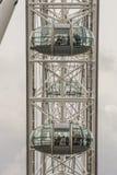 Mensen bij de ogencapsule van Londen ` s Royalty-vrije Stock Afbeeldingen