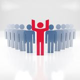 Mensen - commercieel teamconcept Stock Foto's