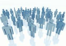 Mensen - commercieel teamconcept Stock Fotografie