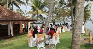 Mensen in de Functie Kerala India stock videobeelden