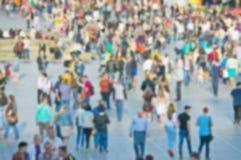 Mensen in de stad Stock Afbeelding